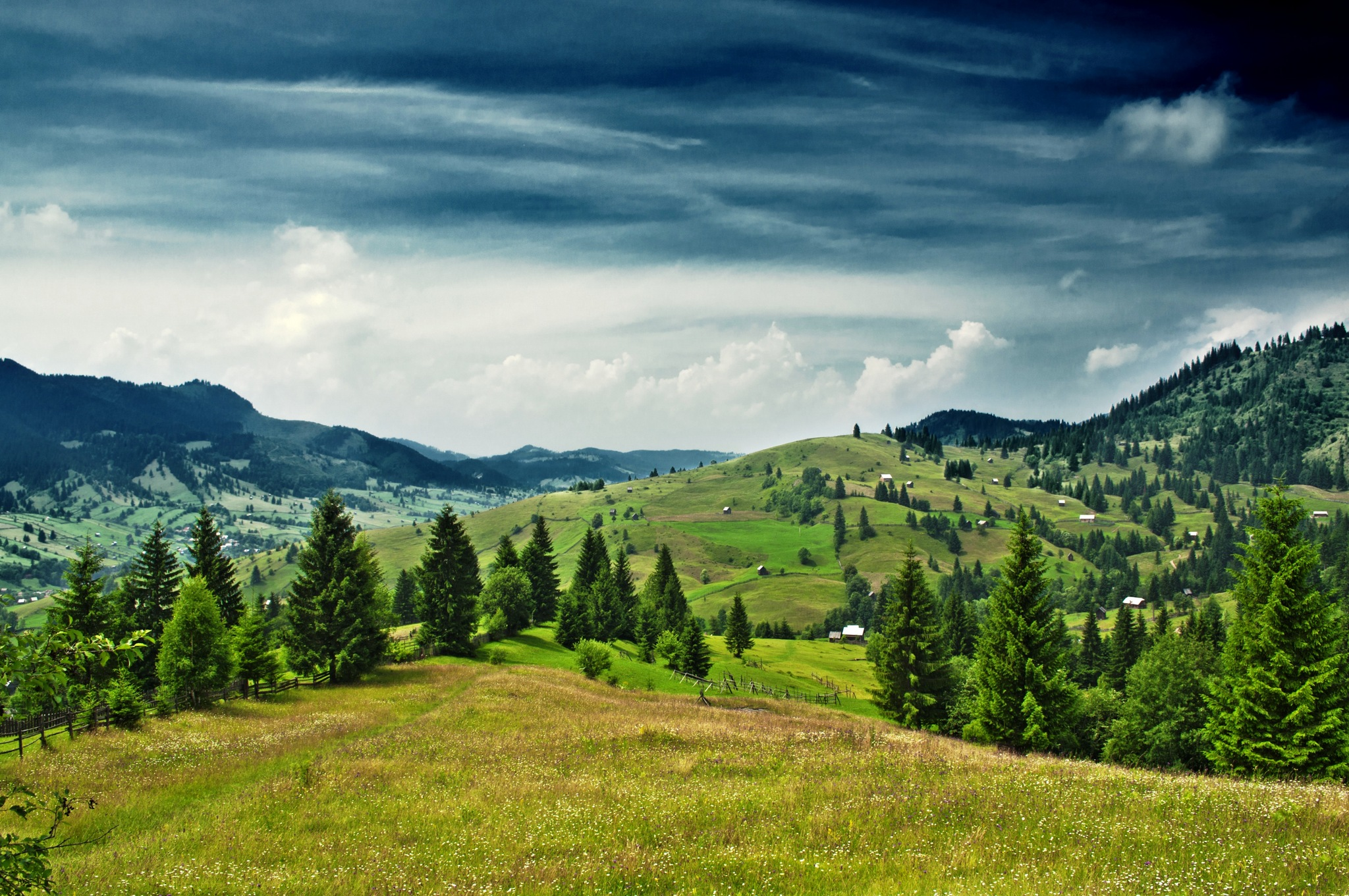 You will be impressed by the landscape of Bucovina !