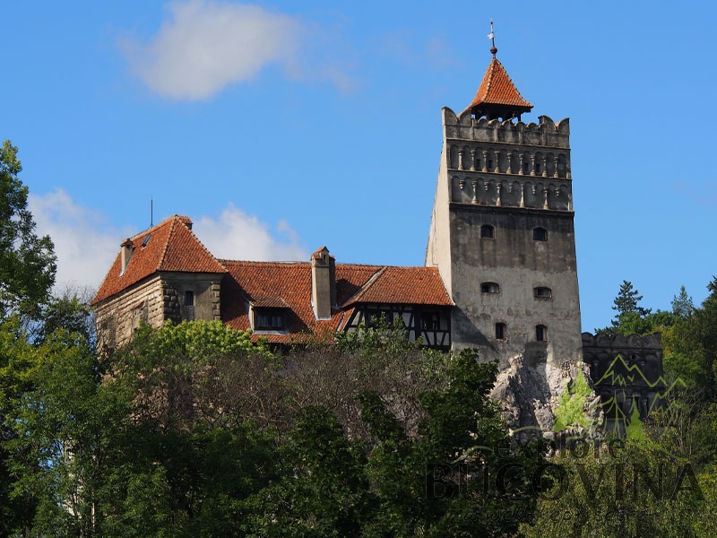 Bran Castle in Transylvania Romania